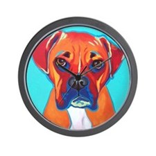Bella The Boxer Wall Clock