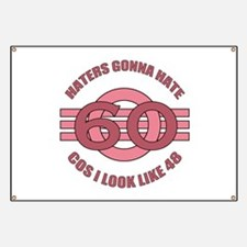 60th Birthday Humor Banner