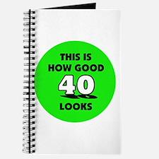 40th Birthday - Happy Birthda Journal