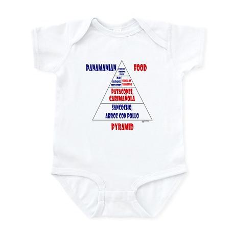 Panamanian Food Pyramid Infant Bodysuit