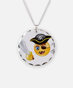 pirate emoji Necklace