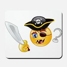 pirate emoji Mousepad