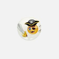 pirate emoji Mini Button (10 pack)
