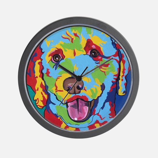 Charlie Brown The Doodle Wall Clock