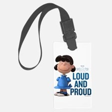 Lucy - Loud and Proud Luggage Tag