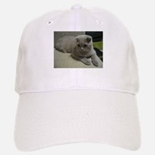 laying 2 scottish fold Baseball Baseball Baseball Cap