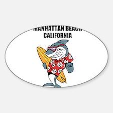 Manhattan Beach, California Decal