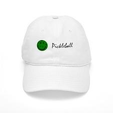 Funny Pickleball Smiley Face Baseball Cap