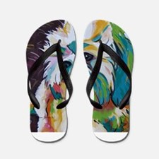 Shih Tzu - Grady Flip Flops