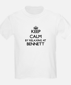 Keep calm by relaxing at Benne T-Shirt