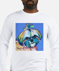 Bam Bam the Shih Tzu Long Sleeve T-Shirt