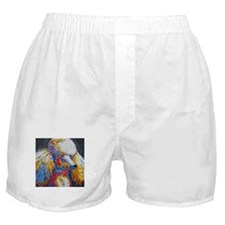 Daisy the Standard Poodle Boxer Shorts
