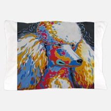 Daisy the Standard Poodle Pillow Case