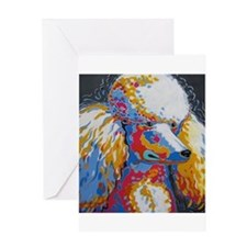 Daisy the Standard Poodle Greeting Cards