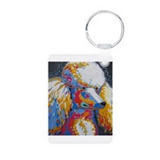 Daisy the Standard Poodle Keychains