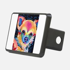 Neon Pomeranian or Chihuah Hitch Cover