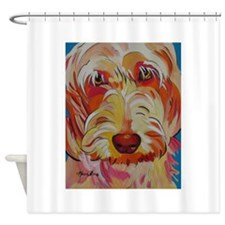 Harvey the Doodle Shower Curtain