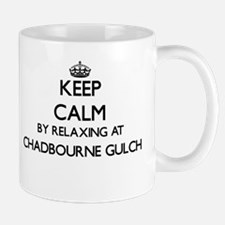 Keep calm by relaxing at Chadbourne Gul Mugs