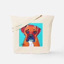 Bella The Boxer Tote Bag