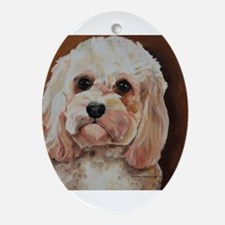 Emme Oval Ornament