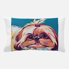 Pebbles the Shih Tzu Dog Art Pillow Case