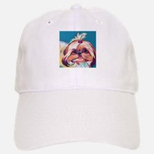 Pebbles the Shih Tzu Dog Art Baseball Baseball Cap