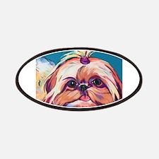Pebbles the Shih Tzu Dog Art Patch