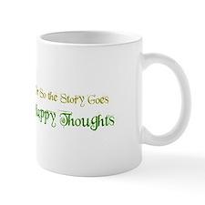 "Ostsg: ""Happy Thoughts"" Mug Mugs"