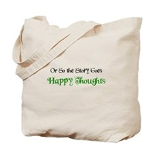 "Ostsg: ""Happy Thoughts"" Tote Bag"