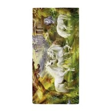 Beautiful Unicorns Beach Towel