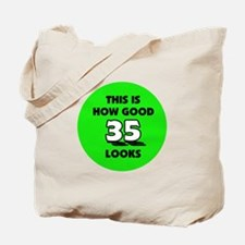 35th Birthday - Happy Birthda Tote Bag