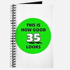 35th Birthday - Happy Birthda Journal