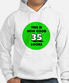 35th Birthday - Happy Birthda Hoodie