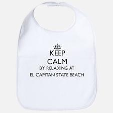 Keep calm by relaxing at El Capitan State Beac Bib