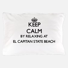 Keep calm by relaxing at El Capitan St Pillow Case