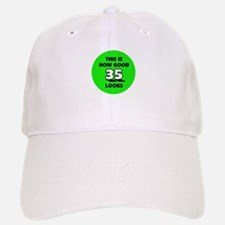 35th Birthday - Happy Birthda Baseball Baseball Cap