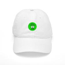 35th Birthday - Happy Birthda Baseball Cap