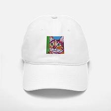 Pippa The Pop Art Kitty Cat Baseball Baseball Cap