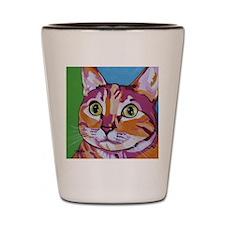 Pippa The Pop Art Kitty Cat Shot Glass