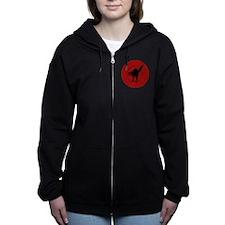 IWW Cat Logo Women's Zip Hoodie