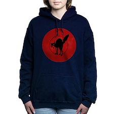 IWW Cat Logo Women's Hooded Sweatshirt
