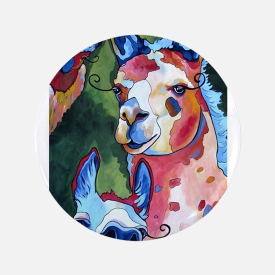 "I'm in Llama Land 3.5"" Button (100 pack)"