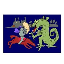 Fighting the Dragon Postcards (Package of 8)