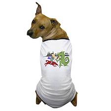Fighting the Dragon Dog T-Shirt