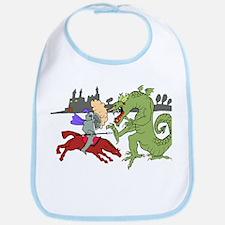 Fighting the Dragon Bib
