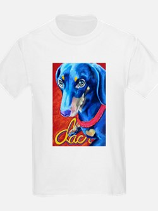 Dachshund Dog Art Portrait T-Shirt
