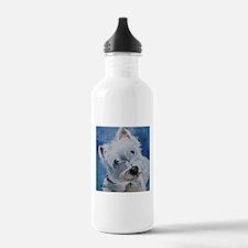 Tavin the Westie Water Bottle