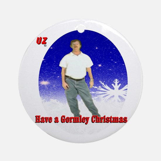 A Mark Gormley Christmas Round Ornament