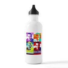 Ted Cruz: Bold Colors, No Pale Pastels Water Bottl