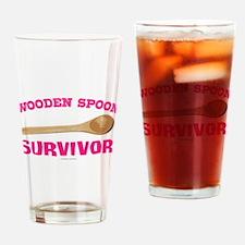 Wooden Spoon Survivor Drinking Glass